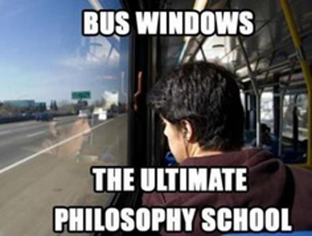 funny bus windows