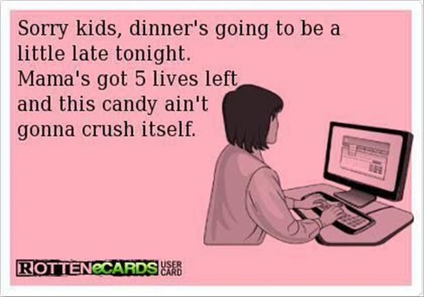 funny candy crush ecards