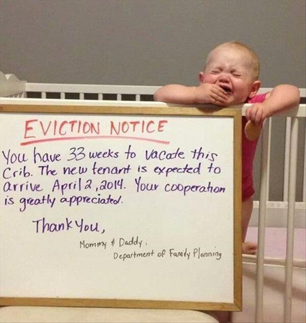 funny eviction notices