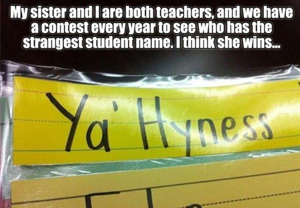 funny kid names