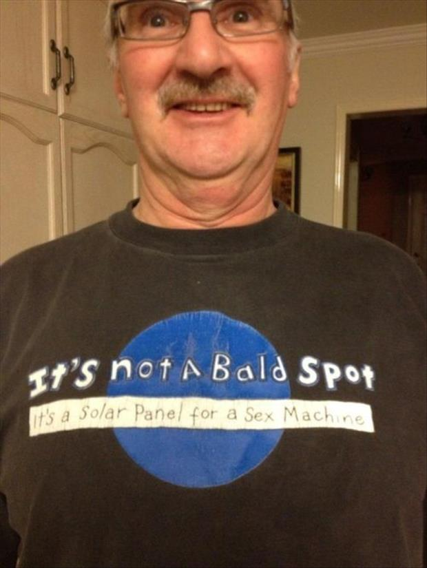 Funniest T-shirts seen on old people