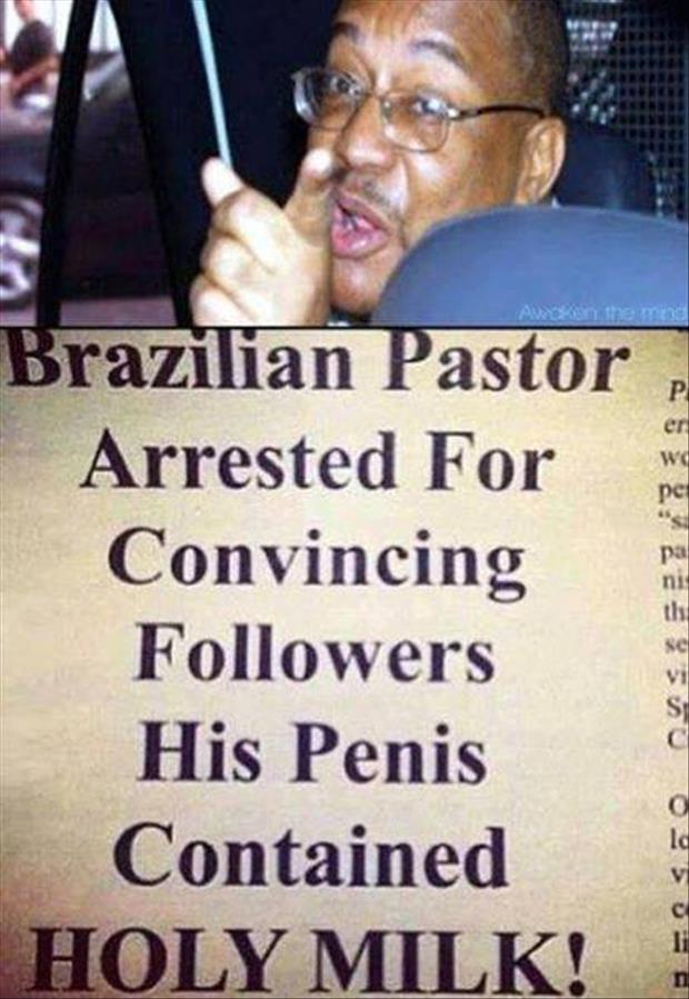 funny pastor