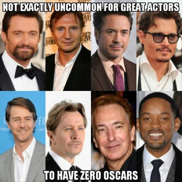 great actors with no oscars