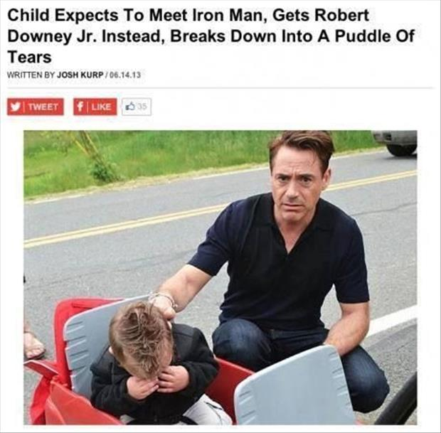 kid wants to meet iron man