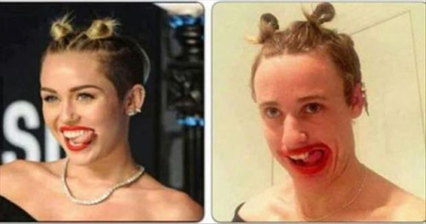 looks like miley cyrus