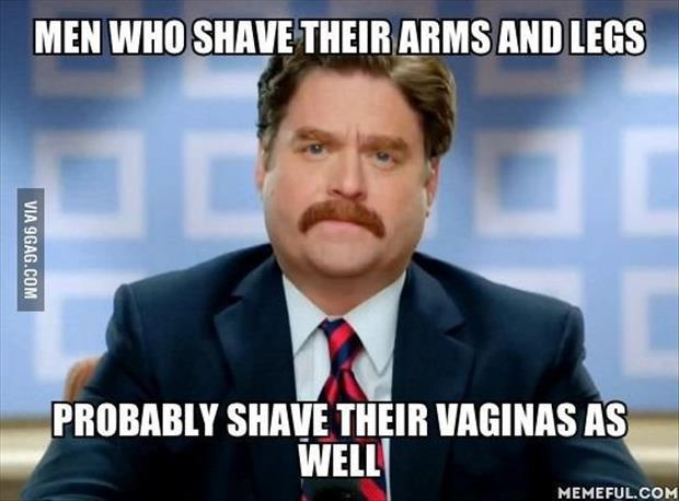 men who shave their legs