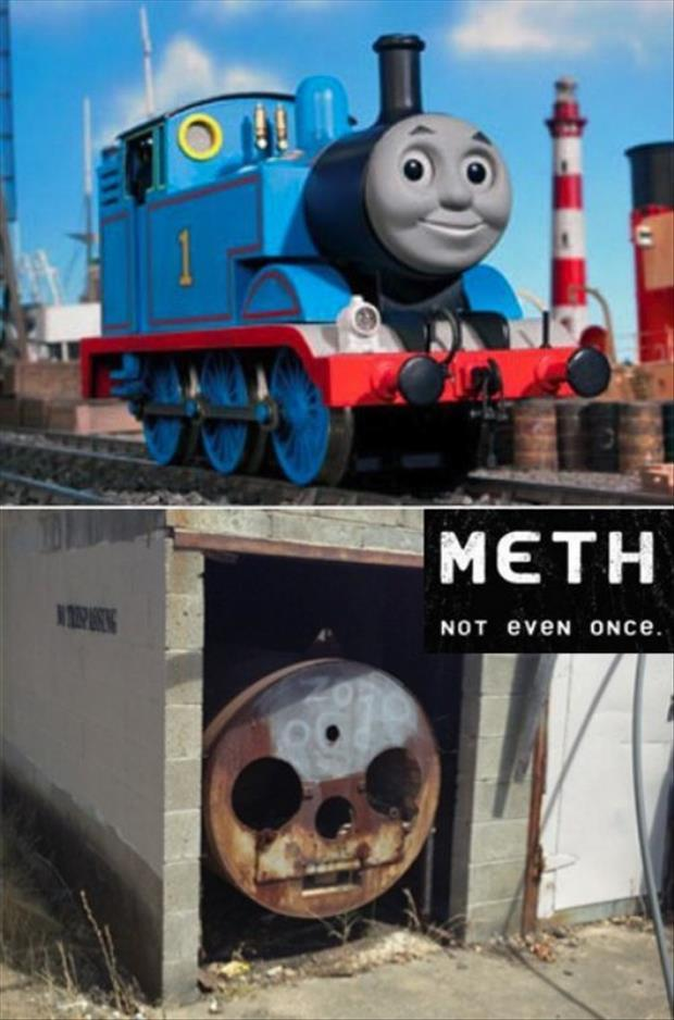 meth no even once