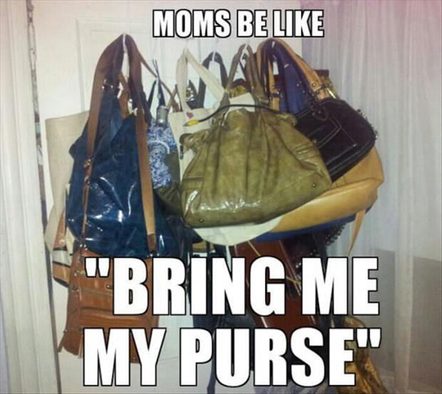 mom wants her purse