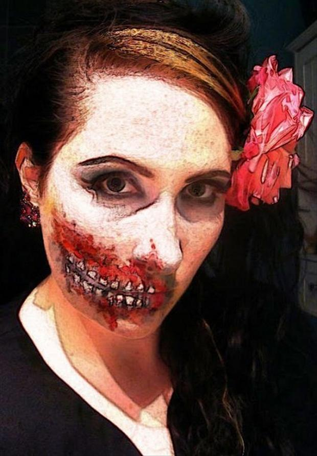 paint your face for halloween (10)