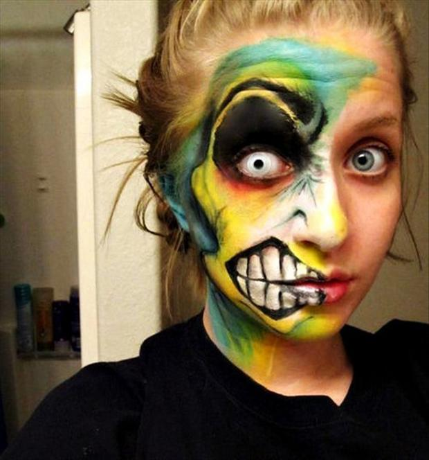 paint your face for halloween (7)