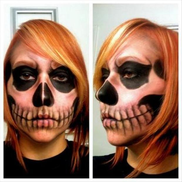 paint your face for halloween (9)