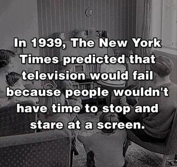 quick fact about television