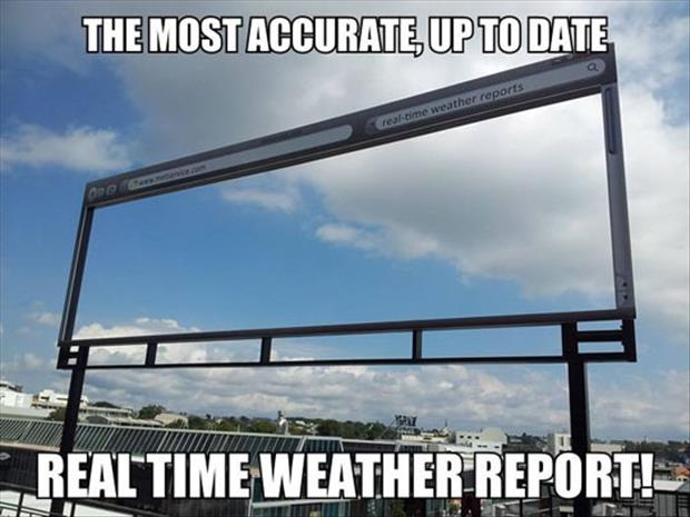 real time weather reports