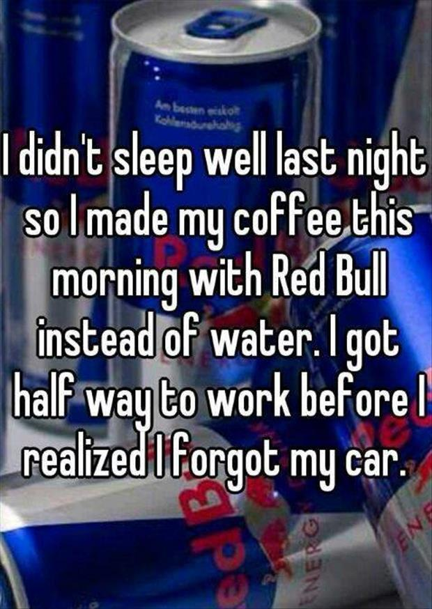 redbull and coffee