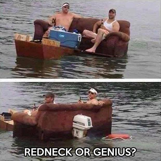 redneck or genius