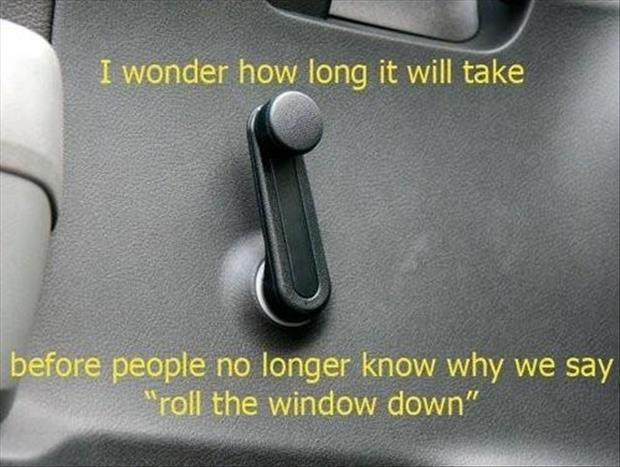 roll down the window