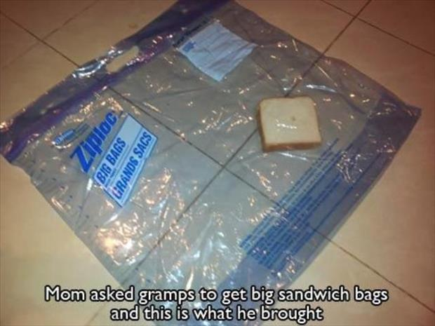 sandwhich bags