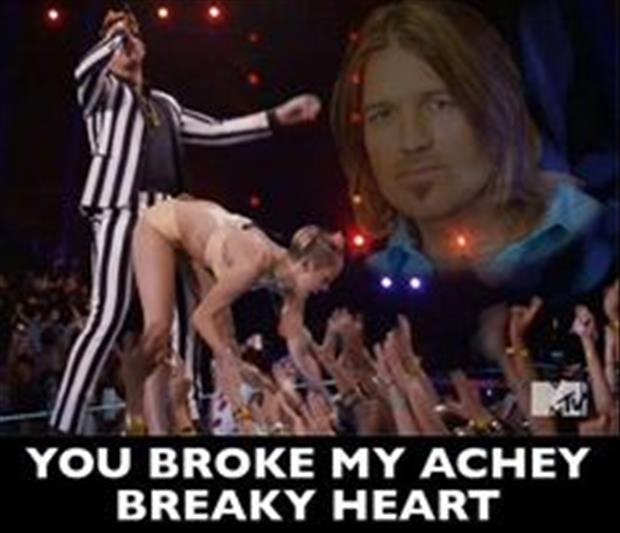 she broke my achy breaky heart