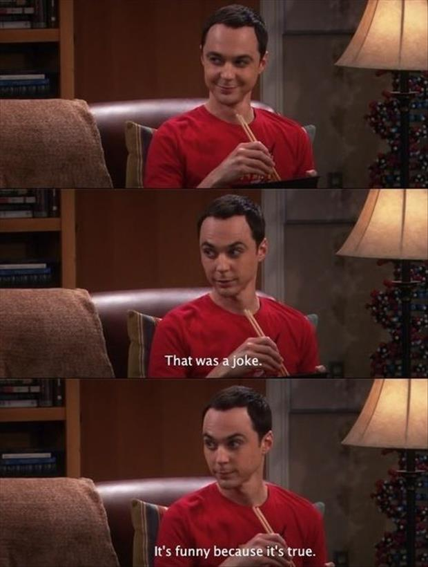 sheldon cooper jokes