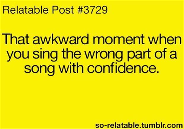 sing song with confidence