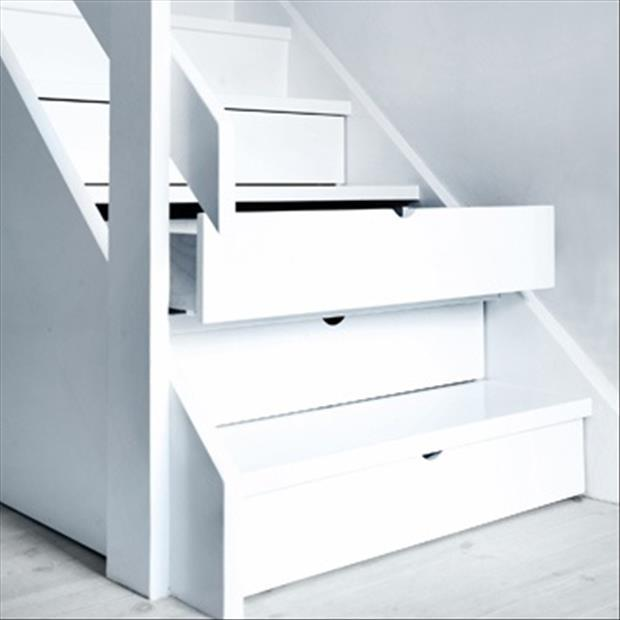 stair drawers