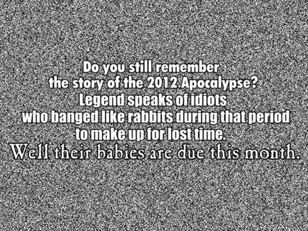 the 2012 apacolypse