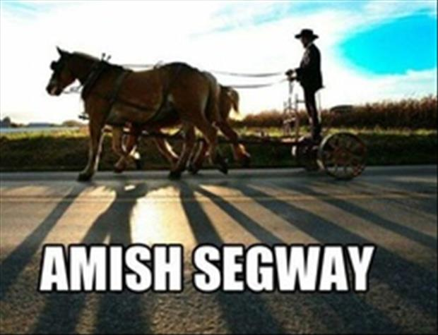 the amish segway