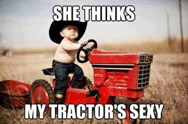 tractor is sexy