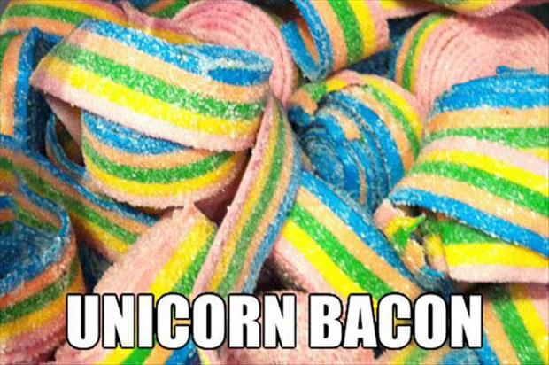 unicorn bacon