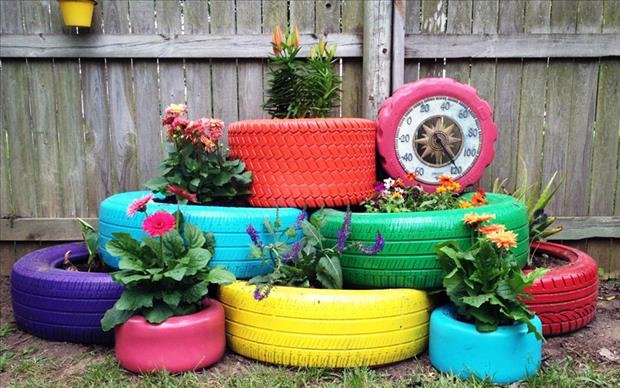 uses for old tires (14)