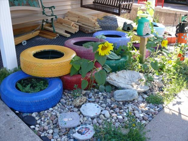 uses for old tires (3)