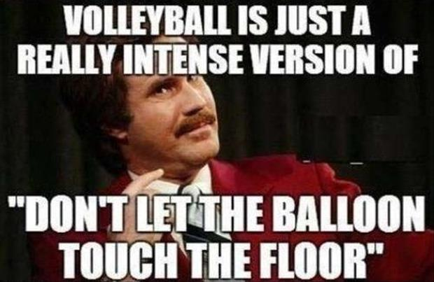 volleyball funny quotes
