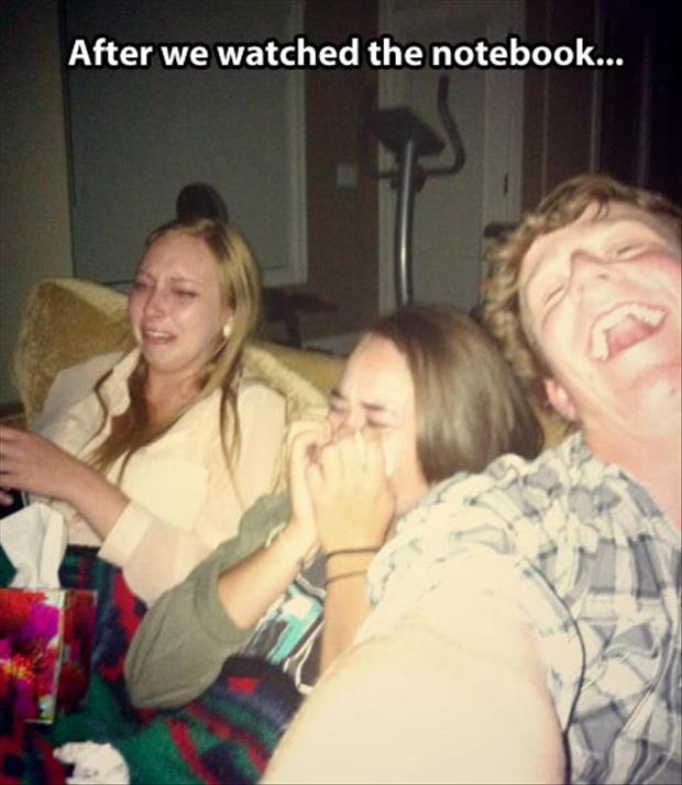 watching the notebook