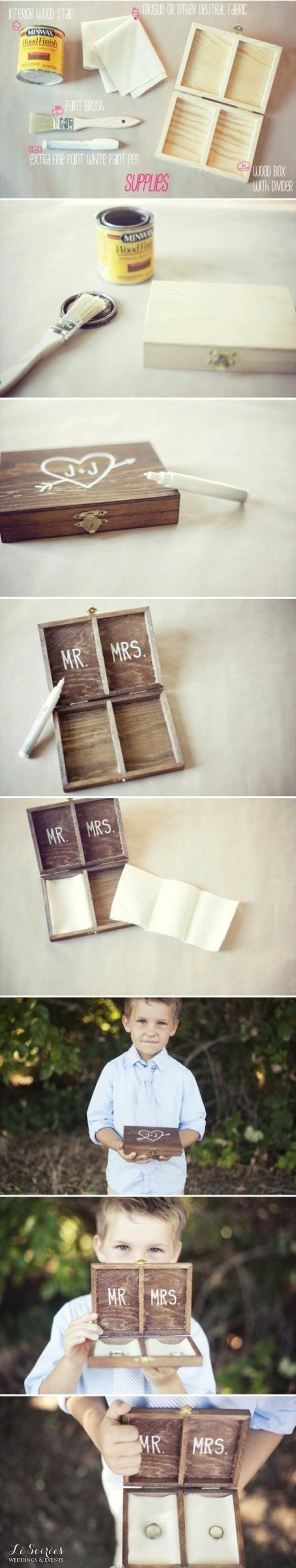 wedding ring box craft ideas