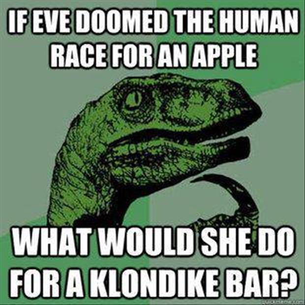 what would she do for a klondike bar