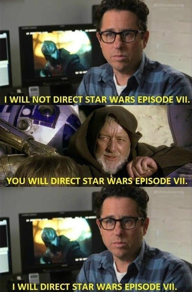 who will direct star wars episode seven