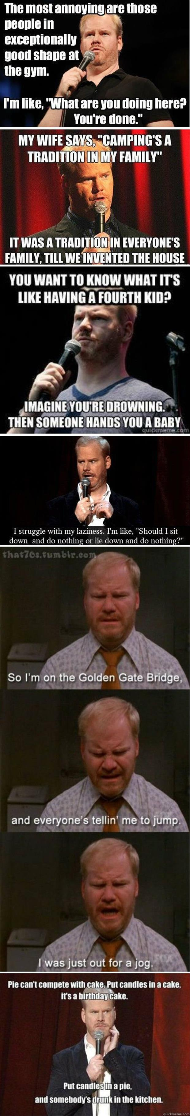 z Jim Gaffigan quotes