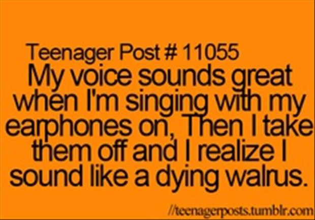 I can sing great