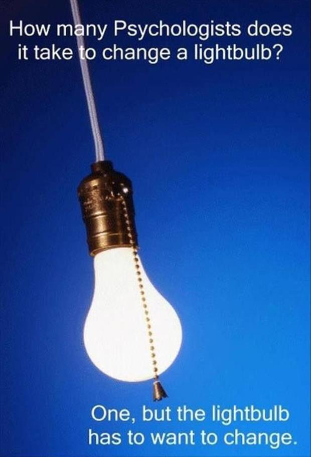 change a light bulb joke