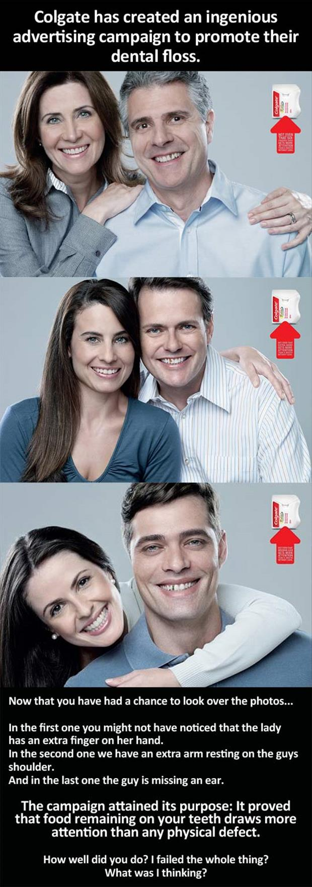 colgate toothpaste ad campaign