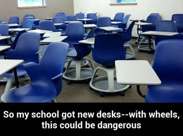 desks with wheels