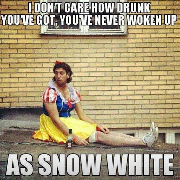 drunk snow white