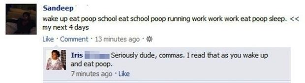 dumbest facebook status updates (3)