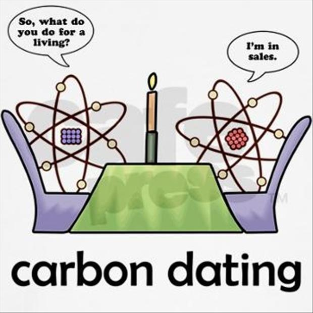 radiocarbon dating joke