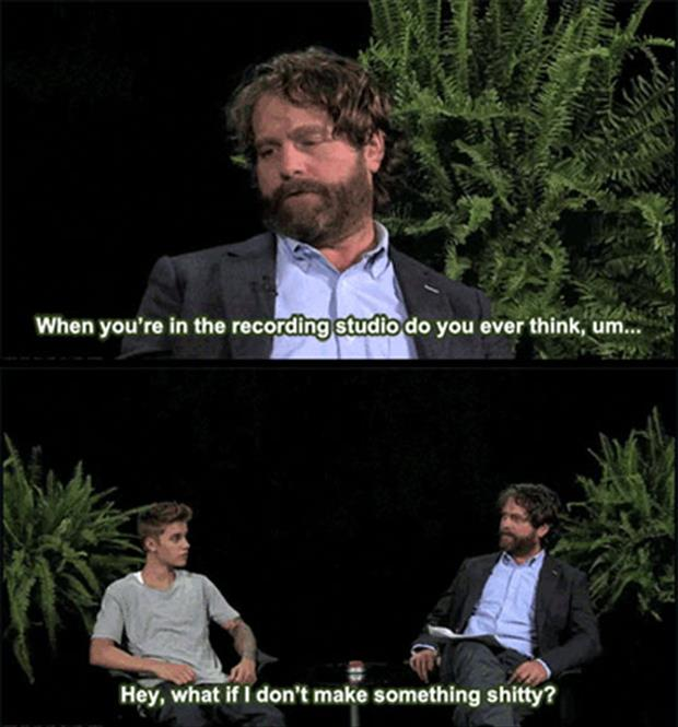 funny justin bieber talk shows