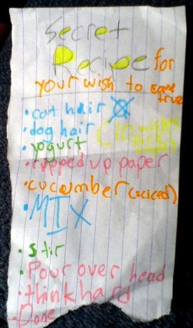 funny notes from kids (3)