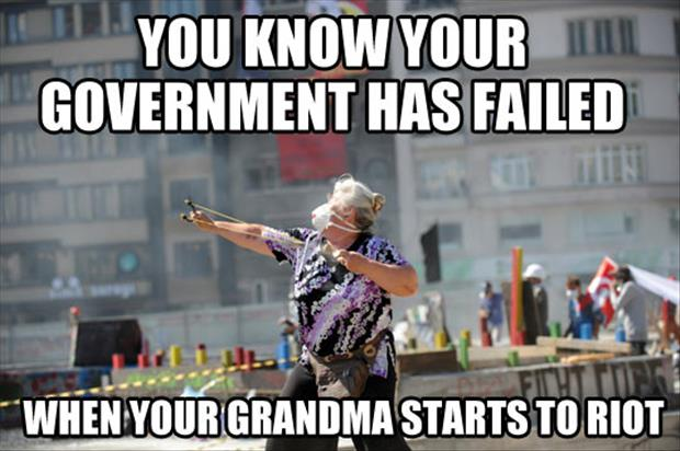 government failed