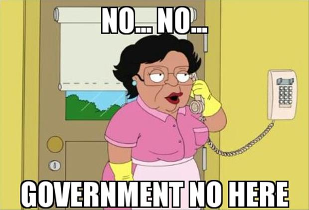 government no here