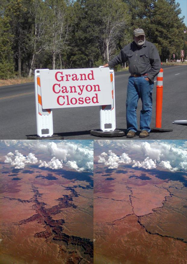 grand canyon closed