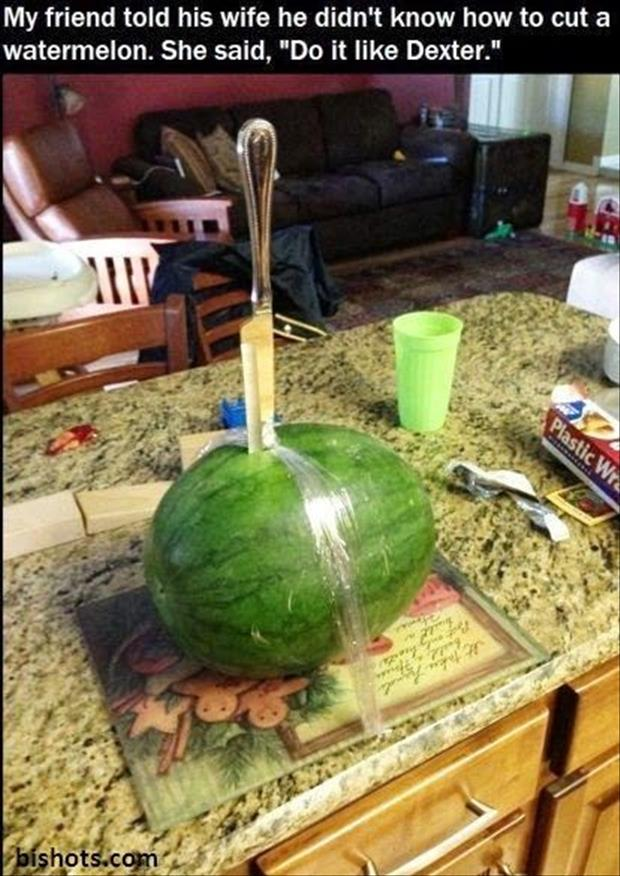 funny watermelon activity